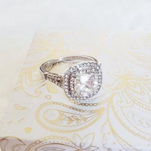 3/$21 Charter Club NIB Silver-Tone Size 6 Ring